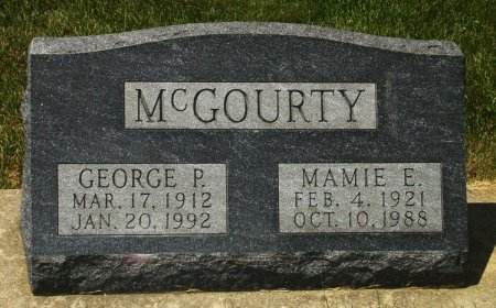 MCGOURTY, MAMIE ELIZABETH - Black Hawk County, Iowa | MAMIE ELIZABETH MCGOURTY