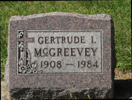 MCGREEVEY, GERTRUDE I. - Black Hawk County, Iowa | GERTRUDE I. MCGREEVEY