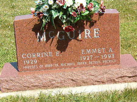 MCGUIRE, EMMET A. - Black Hawk County, Iowa   EMMET A. MCGUIRE