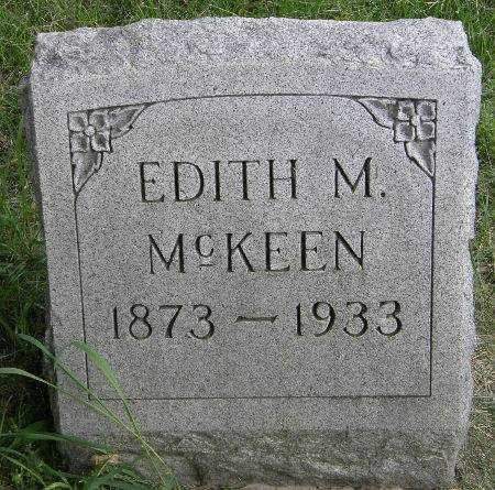 MCKEEN, EDITH M. - Black Hawk County, Iowa | EDITH M. MCKEEN