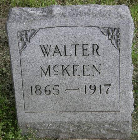 MCKEEN, WALTER - Black Hawk County, Iowa | WALTER MCKEEN