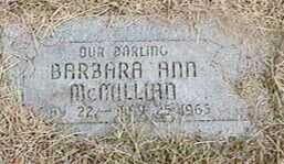 MCMILLIAN, BARBARA ANN - Black Hawk County, Iowa | BARBARA ANN MCMILLIAN