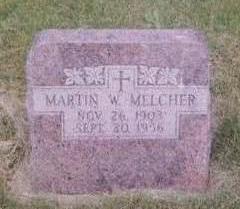 MELCHER, MARTIN - Black Hawk County, Iowa | MARTIN MELCHER
