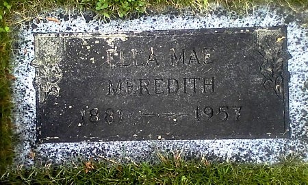MEREDITH, ELLA MAE - Black Hawk County, Iowa | ELLA MAE MEREDITH