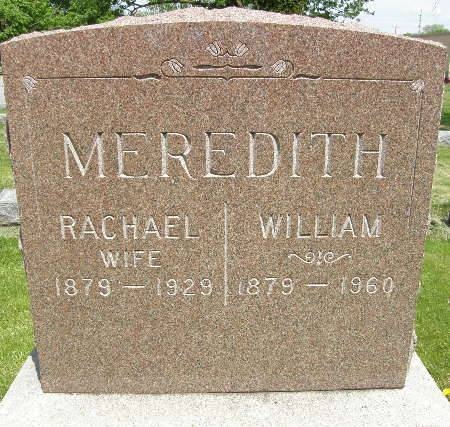 MEREDITH, WILLIAM - Black Hawk County, Iowa | WILLIAM MEREDITH
