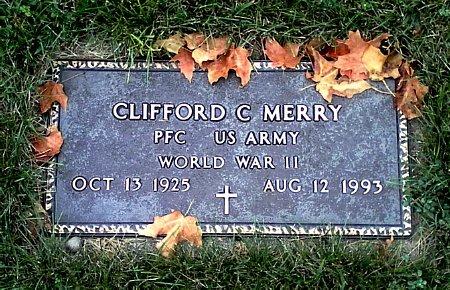 MERRY, CLIFFORD C. - Black Hawk County, Iowa | CLIFFORD C. MERRY