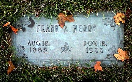 MERRY, FRANK A. - Black Hawk County, Iowa | FRANK A. MERRY