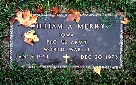 MERRY, WILLIAM A. - Black Hawk County, Iowa | WILLIAM A. MERRY
