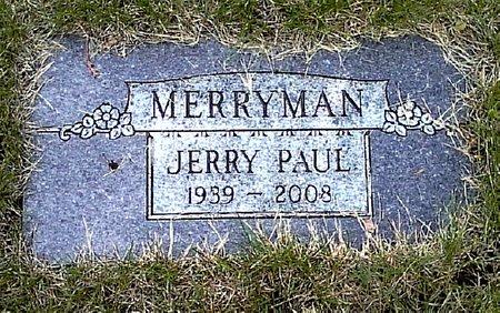 MERRYMAN, JERRY PAUL - Black Hawk County, Iowa | JERRY PAUL MERRYMAN