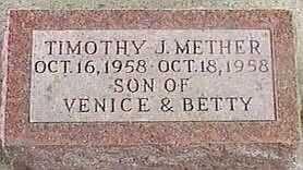 METHER, TIMOTHY J. - Black Hawk County, Iowa | TIMOTHY J. METHER