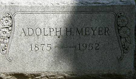 MEYER, ADOLPH H. - Black Hawk County, Iowa | ADOLPH H. MEYER