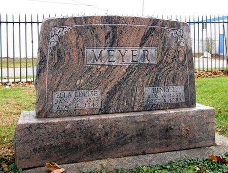 MEYER, HENRY L. - Black Hawk County, Iowa | HENRY L. MEYER