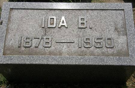 MEYER, IDA B. - Black Hawk County, Iowa | IDA B. MEYER