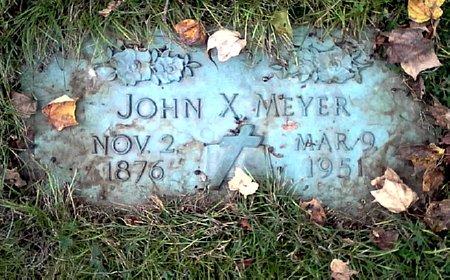 MEYER, JOHN X. - Black Hawk County, Iowa | JOHN X. MEYER