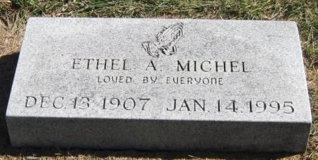 MICHEL, ETHEL A. - Black Hawk County, Iowa | ETHEL A. MICHEL
