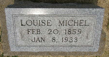 MICHEL, LOUISE - Black Hawk County, Iowa | LOUISE MICHEL