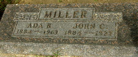 MILLER, JOHN C. - Black Hawk County, Iowa | JOHN C. MILLER