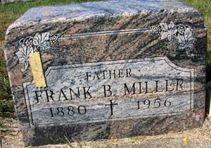 MILLER, FRANK B. - Black Hawk County, Iowa   FRANK B. MILLER