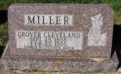 MILLER, GROVER CLEVELAND - Black Hawk County, Iowa | GROVER CLEVELAND MILLER