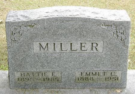 MILLER, HATTIE E. - Black Hawk County, Iowa | HATTIE E. MILLER