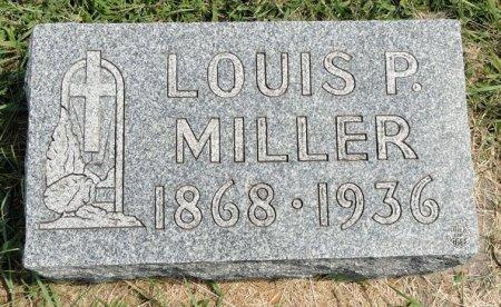MILLER, LOUIS P. - Black Hawk County, Iowa   LOUIS P. MILLER
