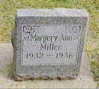 MILLER, MARGERY ANN - Black Hawk County, Iowa   MARGERY ANN MILLER