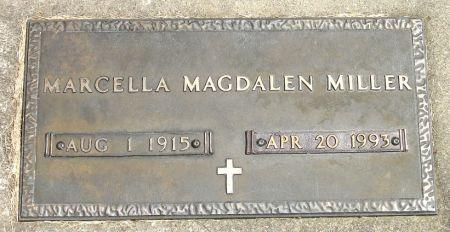MILLER, MARCELLA MAGDALEN - Black Hawk County, Iowa | MARCELLA MAGDALEN MILLER
