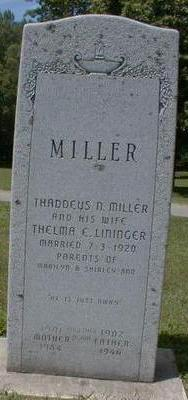 MILLER, THELMA - Black Hawk County, Iowa | THELMA MILLER