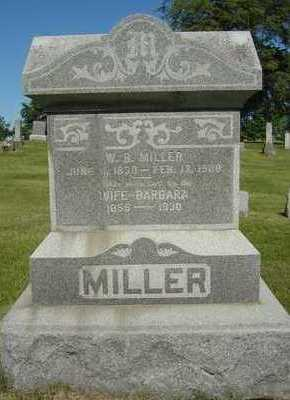 MILLER, W.B. - Black Hawk County, Iowa | W.B. MILLER