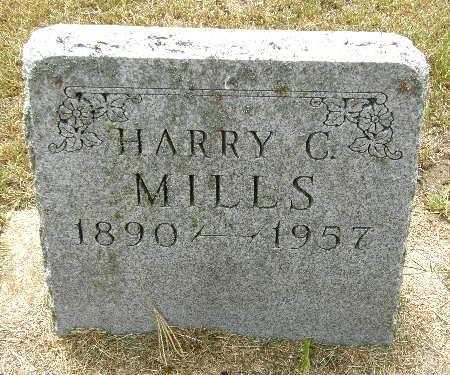 MILLS, HARRY C. - Black Hawk County, Iowa | HARRY C. MILLS