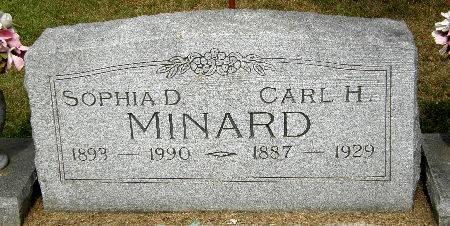 MINARD, SOPHIA D. - Black Hawk County, Iowa | SOPHIA D. MINARD