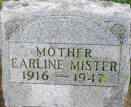 MISTER, EARLINE - Black Hawk County, Iowa | EARLINE MISTER