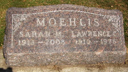 MOEHLIS, LAWRENCE C. - Black Hawk County, Iowa | LAWRENCE C. MOEHLIS