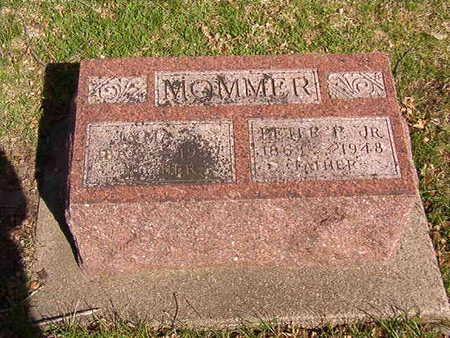 MOMMER, PETER P. JR. - Black Hawk County, Iowa   PETER P. JR. MOMMER