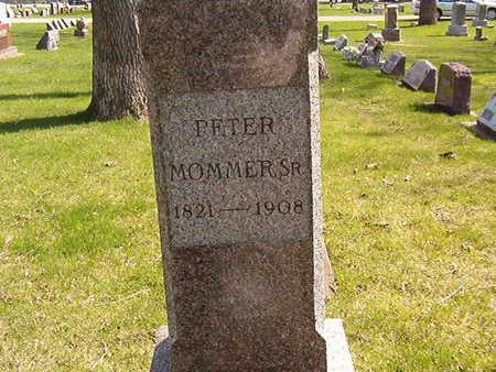 MOMMER, PETER SR. - Black Hawk County, Iowa   PETER SR. MOMMER