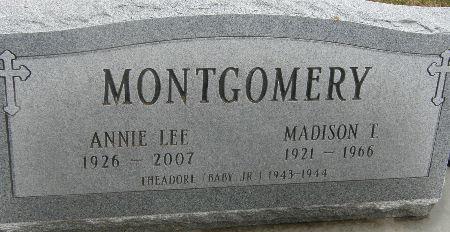 LEE MONTGOMERY, ANNIE LEE - Black Hawk County, Iowa | ANNIE LEE LEE MONTGOMERY