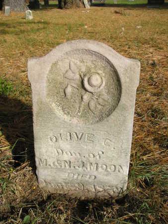 MOON, OLIVE C - Black Hawk County, Iowa | OLIVE C MOON