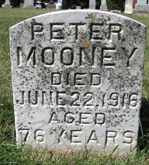 MOONEY, PETER - Black Hawk County, Iowa | PETER MOONEY