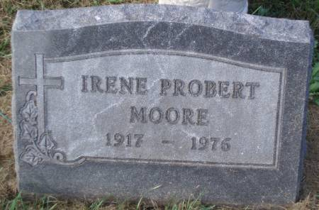 PROBERT MOORE, IRENE K. - Black Hawk County, Iowa | IRENE K. PROBERT MOORE