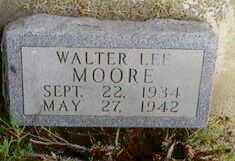 MOORE, WALTER LEE - Black Hawk County, Iowa | WALTER LEE MOORE