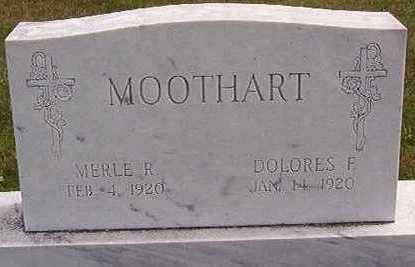 MOOTHART, MERLE - Black Hawk County, Iowa | MERLE MOOTHART