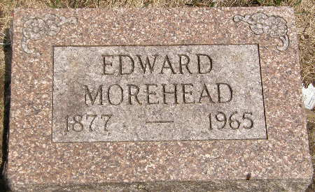 MOREHEAD, EDWARD - Black Hawk County, Iowa | EDWARD MOREHEAD