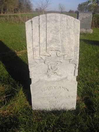 MORGAN, MARY ANN - Black Hawk County, Iowa | MARY ANN MORGAN