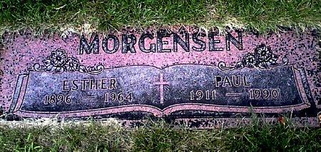 MORGENSEN, ESTHER - Black Hawk County, Iowa | ESTHER MORGENSEN