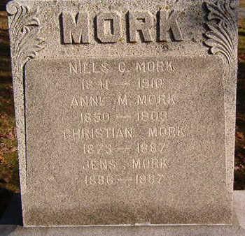 MORK, CHRISTIAN - Black Hawk County, Iowa   CHRISTIAN MORK