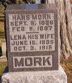 MORK, HANS - Black Hawk County, Iowa | HANS MORK