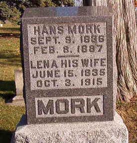 MORK, LENA - Black Hawk County, Iowa | LENA MORK