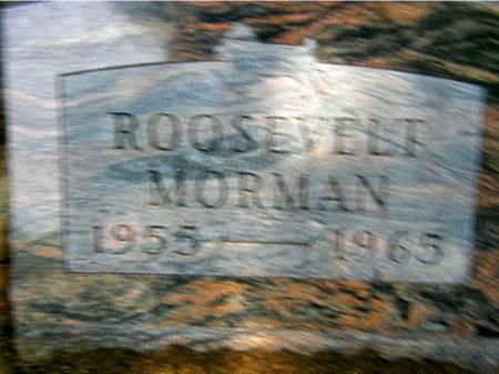 MORMAN, ROOSEVELT - Black Hawk County, Iowa | ROOSEVELT MORMAN