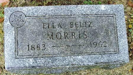 BELTZ MORRIS, ELLA - Black Hawk County, Iowa   ELLA BELTZ MORRIS