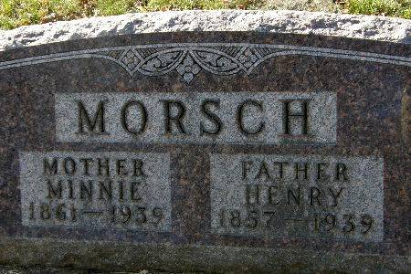 MORSCH, HENRY - Black Hawk County, Iowa | HENRY MORSCH